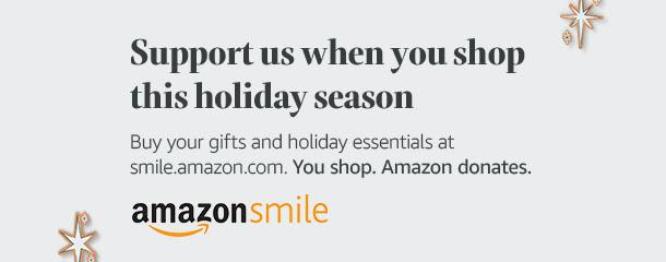 AmazonSmile holiday banner